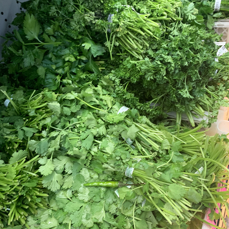 Cilantro Parsley Herbs Halal Cleveland Ohio
